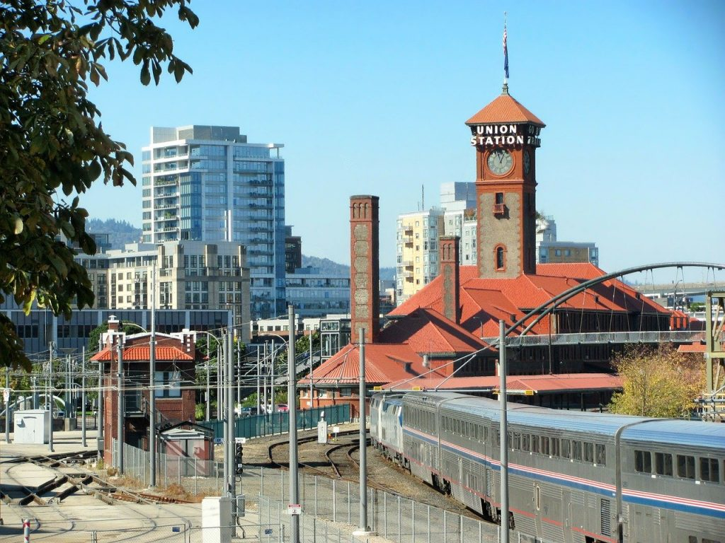 portland, oregon, train station